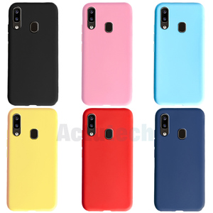 Colorful Candy Case For Samsung Galaxy A10 A20 A30 A40 A50 A60 A70 A20E Cover Cases For Samsung A 10 20 30 40 50 60 70 20E Shell