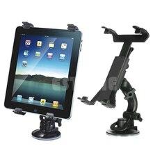 Premium New 360 degree Universal Car Windshield Mount Bracket Holder for iPad 2/3/4/Mini Tablet PC car windshield swivel mount holder for the new ipad black