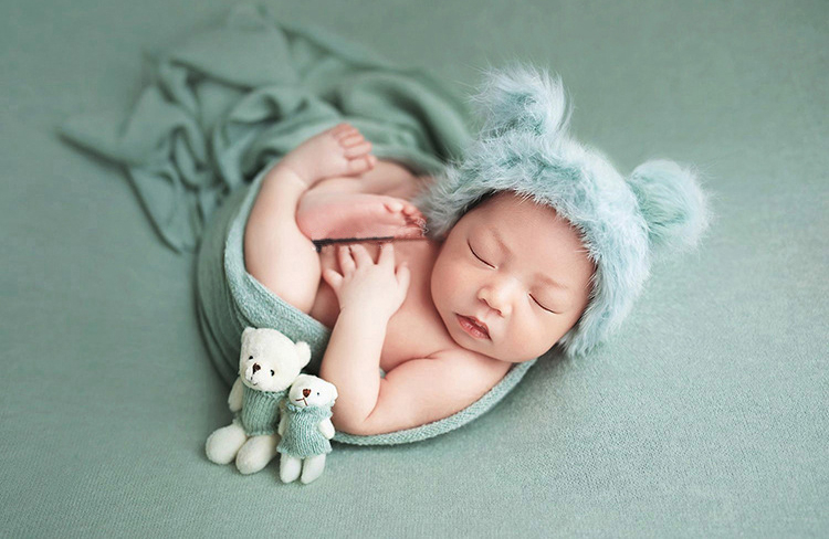 de malha do bebê meninos meninas foto