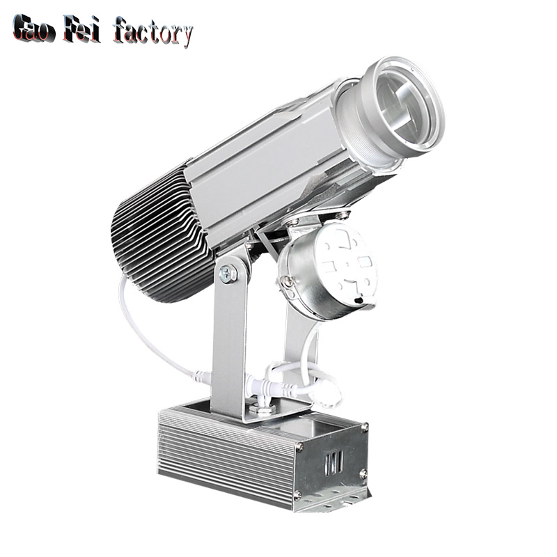 Logo Projector High Resolution Shop Mail Restaurant Welcome Laser Projector Shadow Design Own Customized Display On Ground Spin