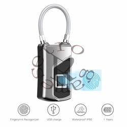 Nowy L1 USB akumulator inteligentny centralny zamek z Blokada z użyciem linii papilarnych wodoodporna blokada  darmowa wysyłka