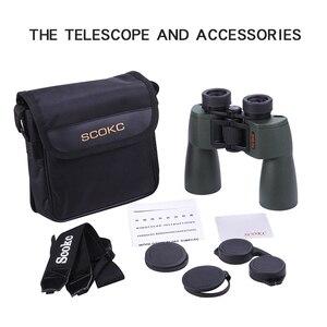 Image 5 - Scokc Hd 10X50 Krachtige Zoom Verrekijker Telescoop Voor Jacht Professionele Hoge Kwaliteit Geen Infrarood Army Lage Nachtzicht