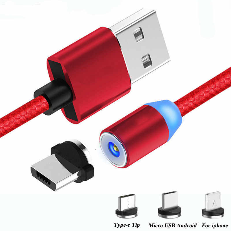 Magnetic Usb Fast Loading Cable Type C Micro Usb Loader For Apple Iphone Xs Samsung Xiaomi Android Loader