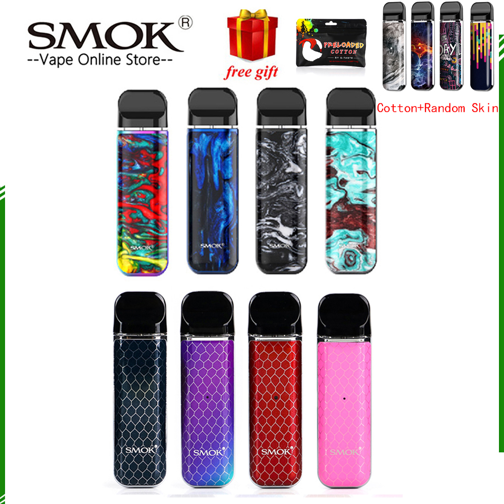 Original SMOK novo 2 pod kit vape kit SMOK novo cobra coberto kit caneta vape bateria 450mAh 2ml kit sistema de capacidade de pod para vape