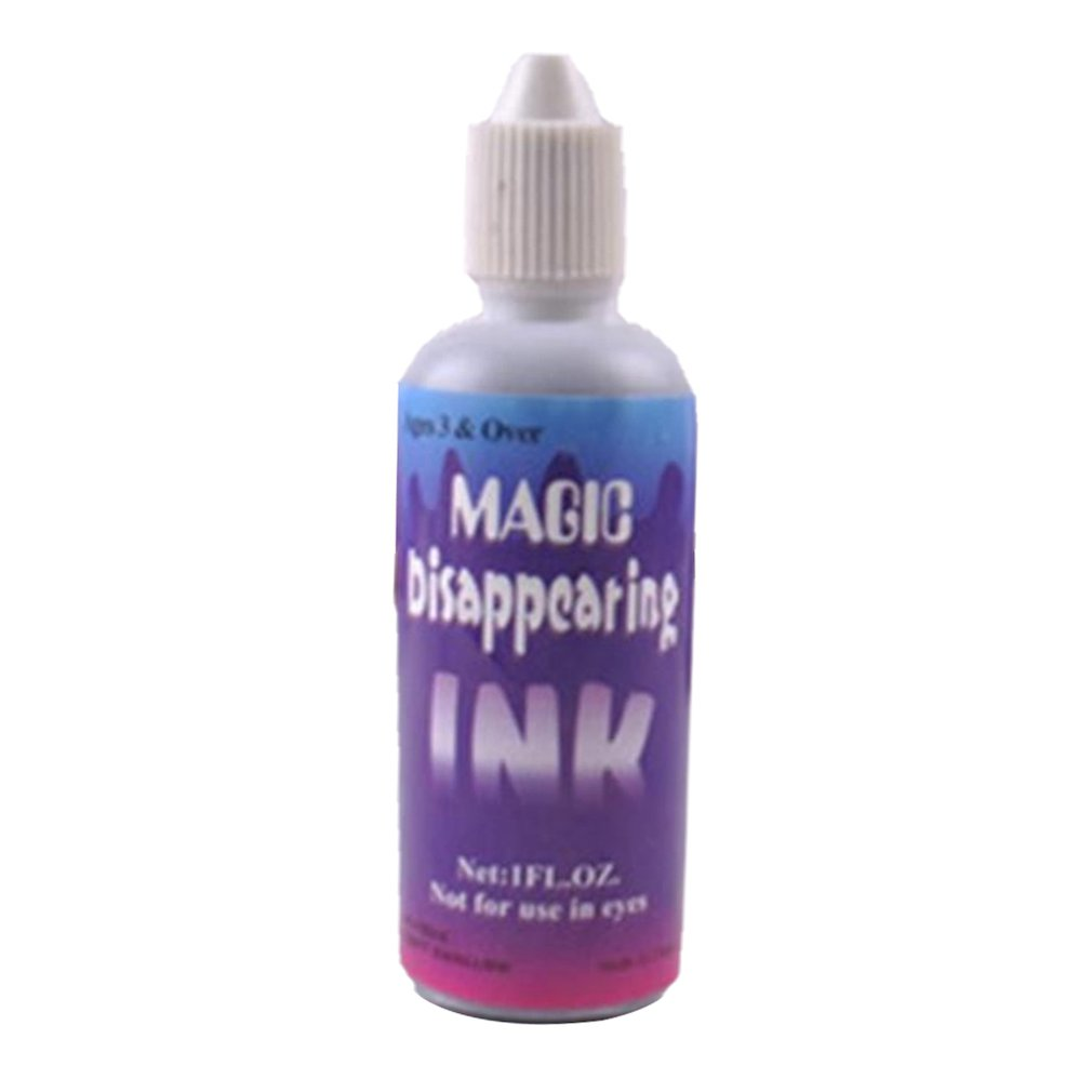 Disappearing Ink Magic Ink Spray Ink Blue Prank Entertainment Fade Fashion Game Spoof Toy Creative Toy April Fools' Day Toy