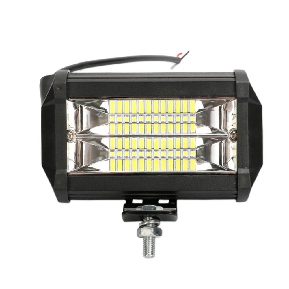 Samochód o dużej mocy 5 Cal LED dwurzędowe długie światło Bar Off-road dach 72W światło robocze samochodowe światło Bar 6500k 12-24V