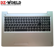Palmrest Silber Ober Fall Mit Slowenisch Tastatur Touchpad für Lenovo Ideapad 310-15IAP 310-15IKB Laptop C Abdeckung 5CB0L35844