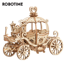 Robotime 3Dปริศนาไม้เกมชุดฟักทองรุ่นของเล่นเด็กเด็กผู้หญิงวันเกิดของขวัญ