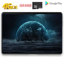 10 Inch Tablet PC Dukungan 2.4G/5G Wifi Global Bluetooth Wifi Phablet Android 9.0 8 Octa Core 4G LTE Dual SIM Kartu IPS 1920*1200(China)