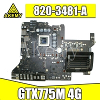 Original Motherboard for Apple iMac 27'' A1419 Late 2013 LogicBoard i5 3.4GHz 2Gb GTX 775M 820-3481-A