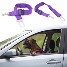Vehicle Car Pet Dog Seat Belt Puppy Safety Seatbelt Dog Harness Lead Clip