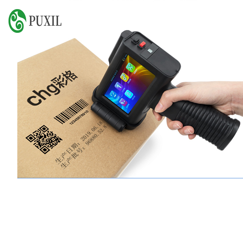 Handheld Inkjet Printer Coding Machine, Production Date, Price Tag, Laser Automatic Inkjet Printer Fully Automatic Intelligent