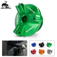 Screws Oil-Filler-Cap Motorcycle-Accessories CBF1000 CBF600/SA Engine-Plug-Cover Aluminum