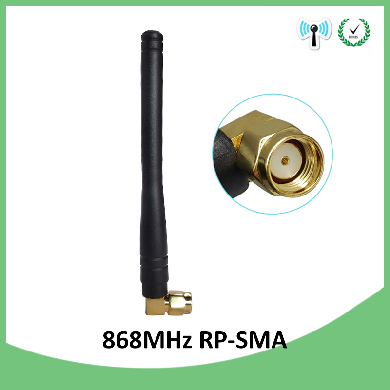 Wholesale 20pcs 868MHz 915MHZ antenna 3dbi RP SMA Connector GSM Antenna 868 MHz 915 MHz antena gsm white small antenne Lorawan in Antennas for Communications from Cellphones Telecommunications