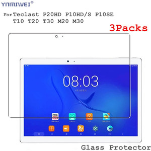 3 pacotes de Filmes De Vidro Para Protetor de Tela Para Teclast Teclast P20hd P10hd P10s PM20 M30 T30 T10 T20 X10H T8 P20 Protetor De Vidro