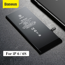 Baseus Phone Battery For iPhone 6 6S 2200mAh High Capacity Replacement Batteries For iPhone 6s with Free Repair Tools cheap 1801mAh-2200mAh Compatible Apple iPhones Phone Battery For iPhone 6 2200mAh Normal Capacity 1810mAh for iPhone 6 Normal Capacity 1715mAh for iPhone 6s