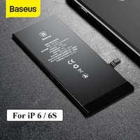 Bateria do telefone de baseus para iphone 6s 2200 mah baterias de substituição de alta capacidade para iphone 6s com ferramentas de reparo gratuitas