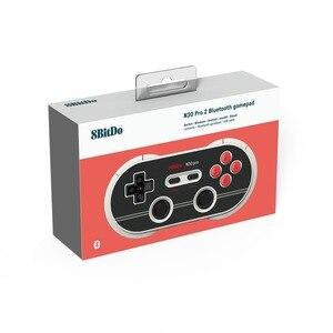 Image 5 - Joystick gamepad 8bitdo n30 pro2, controle wireless, mit para switch, steam, windows, macos, android, raspberry pi