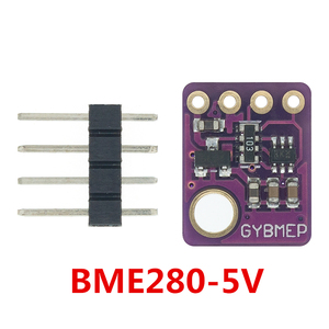 Image 3 - 10 قطعة BME280 3.3 فولت 5 فولت الرقمية الاستشعار درجة الحرارة الرطوبة الجوي وحدة استشعار الضغط I2C SPI 1.8 5 فولت BME280 وحدة الاستشعار