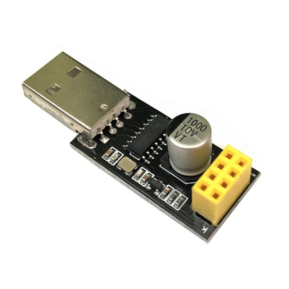 Usb To Esp8266 Serial Module Ttl Wifi Module Esp-01 Ch340G Development Board 8266 Wifi Adapter High Speed Cpu