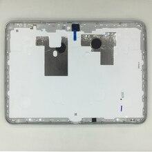 三星銀河タブ 3 10.1 P5200 P5210 P5220 オリジナルタブレット電話ハウジング新フレーム裏表紙リアパネルドア蓋 + ツール