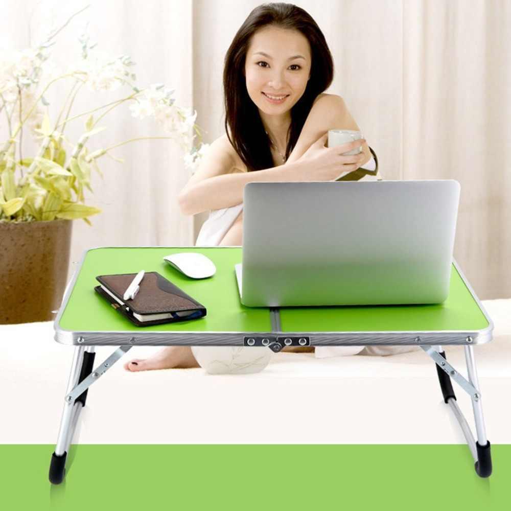 Ordenador portátil mesa de ordenador plegable Escritorio de ordenador portátil mesa de escritura estación de trabajo muebles de oficina en casa