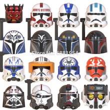 Única venda série de filmes estrela força 99 bad team echo maul bo katan figuras de ação acessórios capacete blocos de construção brinquedos presente