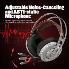 Gaming Headphones For Computer Pc Games Wired Earphone Led Hd Bass Usb Gaming Headset For Ps4 Xbox One With Microphone somic g941 headphones for computer gaming headset with microphone wired usb bass headphone for pc