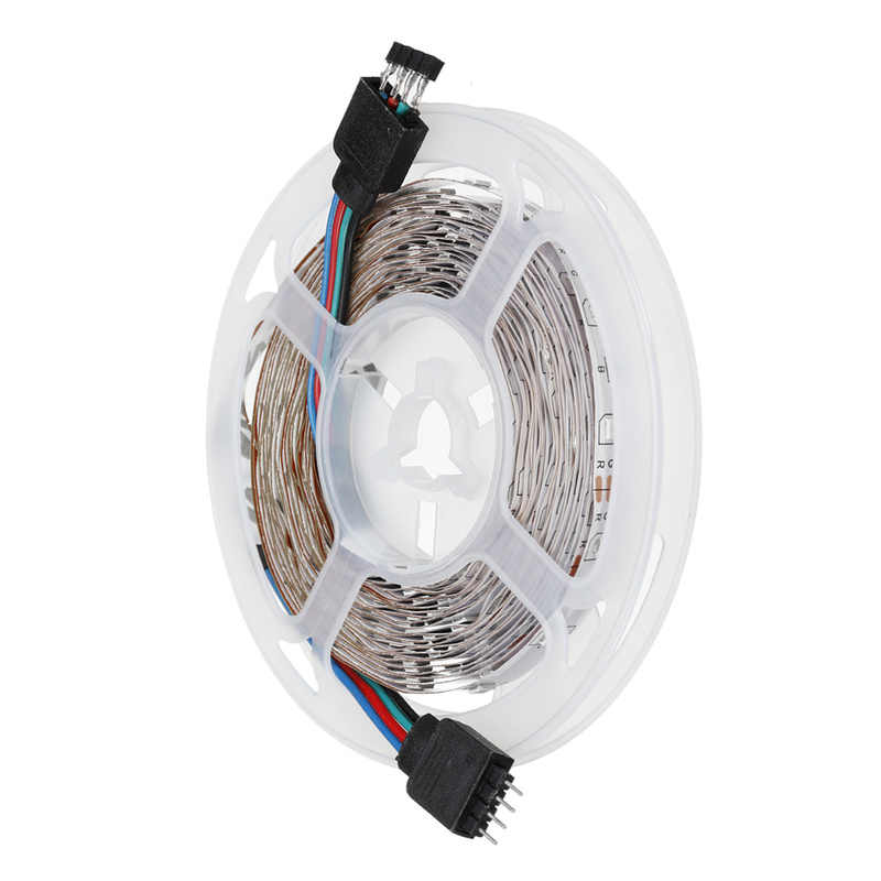 1 Set 10M SMD2835 RGB Wifi LED Strip Lampu Tidak Tahan Air LED RGB Ribbon Tape Remote Wifi IR controller 12V Power Adapte