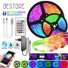 2M-30M LED RGB 5050 Strip Lights SMD Flexible Bluetooth Ribb
