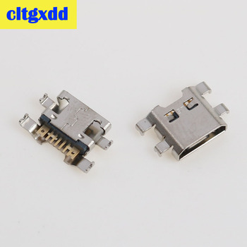 чехол для lg k10 2017 m250 flipcover cfv 290 agrabk black cltgxdd 2-10pcs Micro mini USB Charging Dock Port Connector socket For LG K10 K420 K428 k10 2017 X400 K121 M250 Data port 7 Pin
