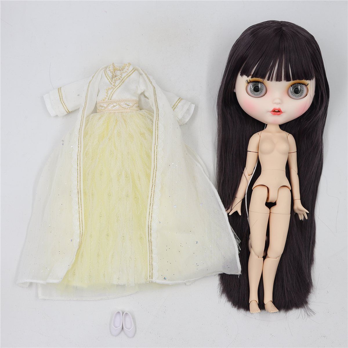 Jacey – Premium Custom Blythe Doll with Smiling Face 5
