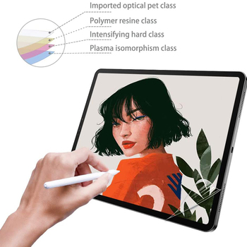 Paper Like Screen Protector For iPad Pro 12.9 11 10.5 9.7 Air 1 2 3 mini 4 5 Matte PET Anti-Glare Painting Film For Apple Pencil 3pcs pack cheap good front matte protetive film for apple ipad 2 3 4 screen protector anti glare carton pack