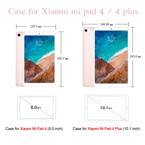 Image 2 - Silicone Case for Xiaomi Mi Pad 4 plus 10.1 Soft Cute Stand Kids Tablet Cover for Xiaomi Mipad 4 Case Mi Pad4 8 inch