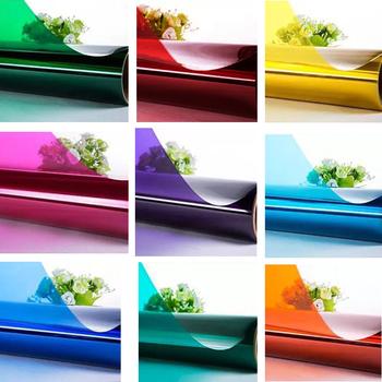 10cm x 1m kolorowe dekoracyjne folie okienne samoprzylepne przeciwwybuchowe Drop-Shipping dekoracyjne Raamfolie na rynek sklepu domowego tanie i dobre opinie WXSHSH Decorative Film Stained Szkło filmy Izolacja cieplna Colorful Decorative Window Film 10cmx1m Hi dear if you need other size or style please contact us