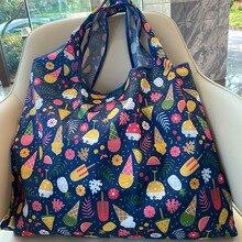 Foldable Bag Handbag Environmental Large-Size Women's Nylon Bag-Out