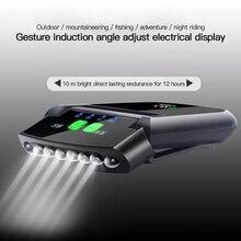 Sweettreats 6 светодиодные фары Регулируемый USB Сенсор Кепки на клипсе; Крепящиеся к шляпе; Лампы Водонепроницаемый IP6 головной светильник фонарь ...