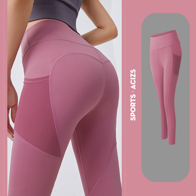 Yoga Pants Women with Pocket Plus Size Leggings Sport Girl Gym Leggings Women Tummy Control Jogging Tights Female Fitness pants 5