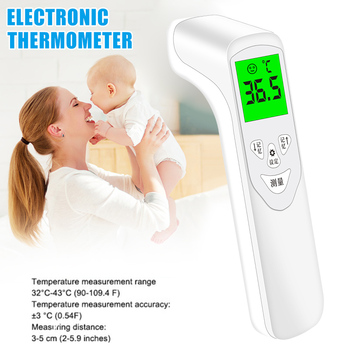 Infrared Forehead Digital Thermometer Handheld Thermometers Adult Kid Temperature Meter New WXV Sale