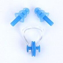 Летний зажим для носа и ушной затычки для плавания, Приморский зажим для носа для плавания, Водонепроницаемый ушной затычек, плавательный продукт