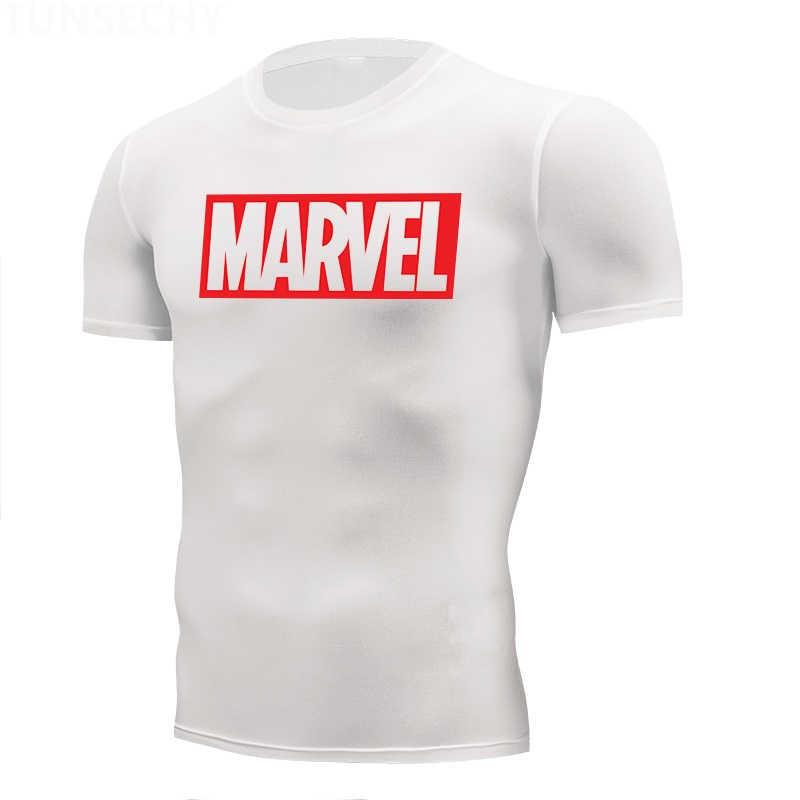 Merek Menjalankan Kemeja Pria Mencetak Gym Kebugaran K Berlaku MMA Lengan Panjang T-shirt Lari Binaraga Latihan Atasan