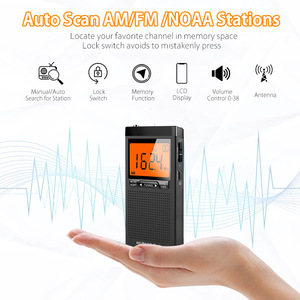 Am Fm карманное радио портативный динамик мини-радио для погоды автопоиск антенна Приемник с разъемом для наушников уличное аварийное радио