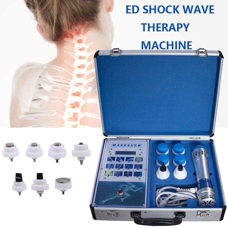 ED Elektromagnetische Extrakorporalen Welle Therapie Maschine Physikalische Therapie Ausrüstung Schmerzen Relief Körper Entspannen Massager