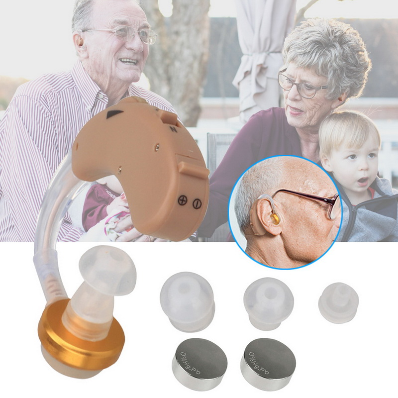 Ear Hearing Aid Hearing Amplifier for Adults and Seniors Fit Both Ears in Phone Accessory Bundles Sets from Cellphones Telecommunications