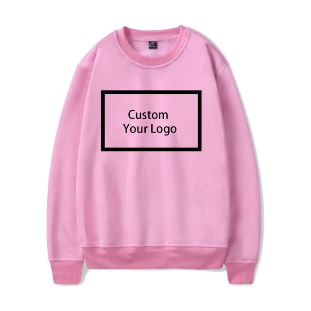 Customized logo Print wholesale Sweatshirts Cotton Hoodies 4