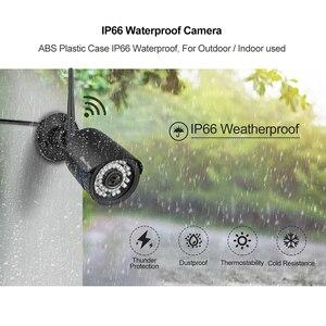 Image 4 - Techage 1080P 2MP Camera Không Dây Tầm Nhìn Ban Đêm Âm Thanh Hai Chiều TF Card Ghi Hình An Ninh Wifi Ngoài Trời camera Quan Sát