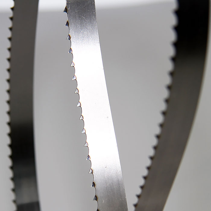 High Quality Factory Direct 3pcs Frozen Bone Meat Cutting Band Saw Blade With High Quality From Saw Mills Made By Alloy Steel