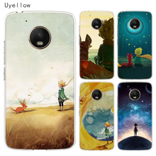 Uyellow Lovely the Little Prince fox For Motorola G4 G5 G5S G6 G7 E4 E5 Plus Play Phone Case Moto Power Silicone Cover