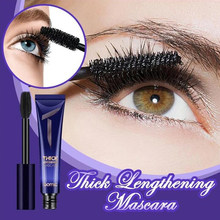 Volumized Eye Mascara Fluffy Volume Mascara Waterproof 4D Silk Fiber Lash Mascara Special Edition Secret Xpress Lash Extension(China)
