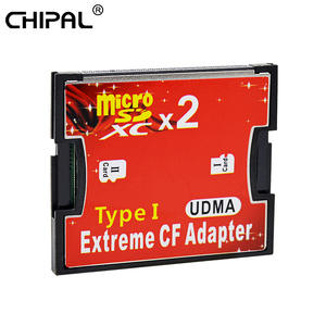 CHIPAL Memory-Card-Adapter Tf-Cards Compact Flash-Type SDXC Micro-Sd Dual-Slot SDHC Converter